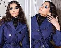 #GetTheLook: Sonam Kapoor Ahuja's Blue Eye Makeup