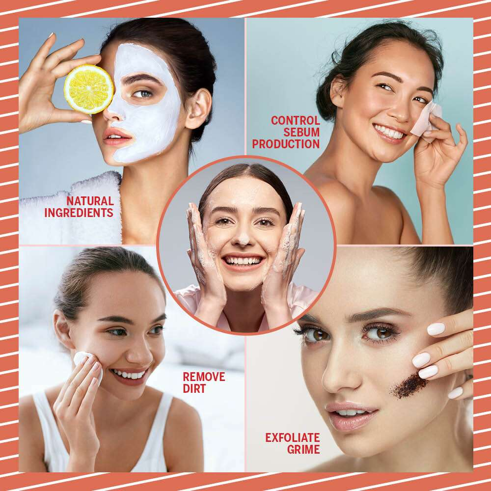 Homemade Cleansers For Oily Skin Infographic
