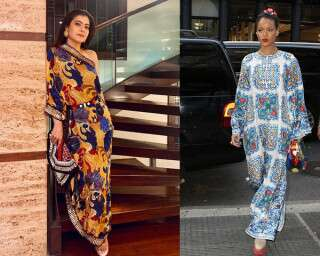 Join In The Boho Party With Celebrity-Approved Kaftans