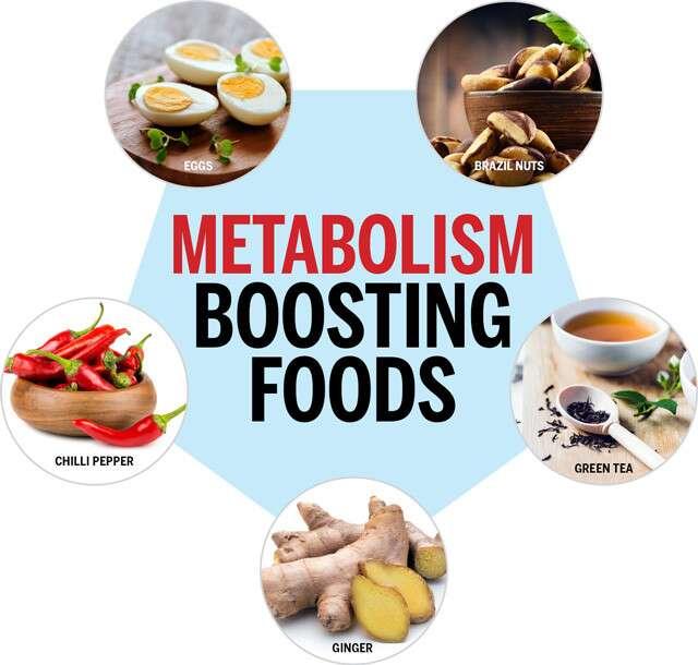 Complément alimentaire - Aliments stimulant le métabolisme