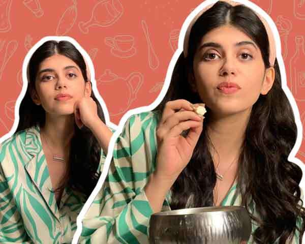 What I Eat In A Day  Ft. Sanjana Sanghi