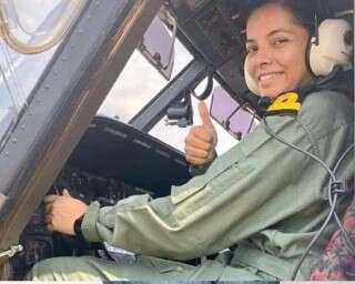 Meet The Indian Navy's First Woman Pilot, Sub Lieutenant Shivangi
