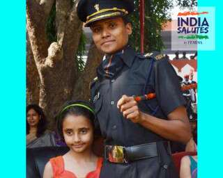 #IndiaSalutes: The Wife Of A Martyred Soldier's Wife Who Joined The Army