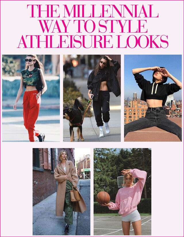 Way to style Athleisure Looks Infographic