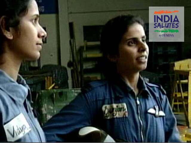 Gunjan Saxena And Srividya Rajan Our First Female Warriors Of Kargil Femina In