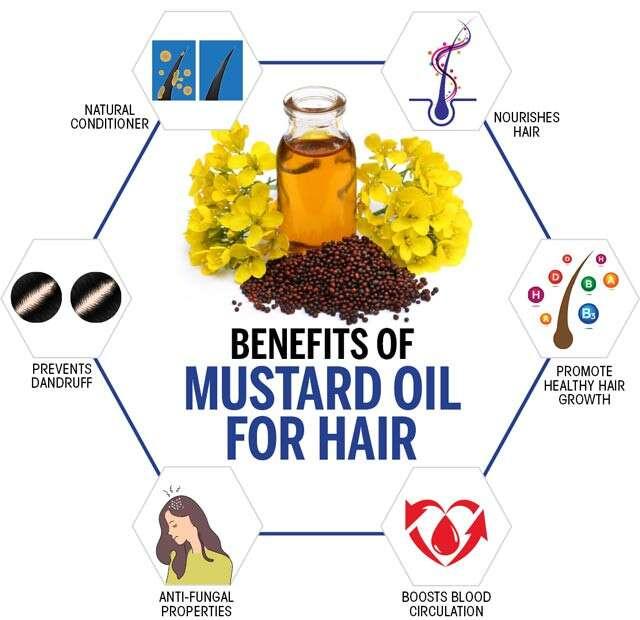 Benefits Of Mustard Oil For Hair Femina In
