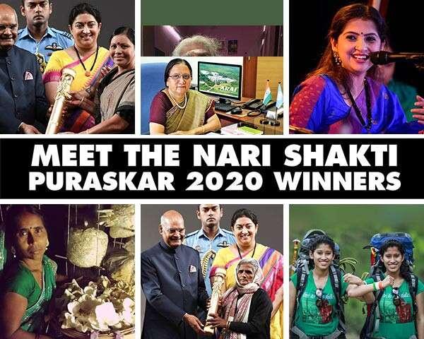 Meet The Winners Of Nari Shakti Puraskar 2020