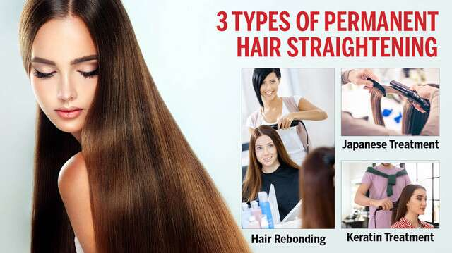 Types Of Permanent Hair Straightening And Side Effects Femina In