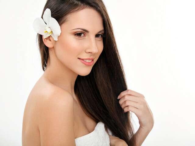 Lissage permanent des cheveux sans produits chimiques