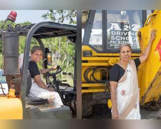 This 69-Year-Old Woman From Kerala Can Drive Over 20 Types Of Heavy Vehicle