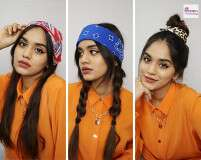 6 Hairstyles Using Scarves Feat. Pooja Mundhra
