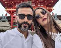 Sonam Kapoor and Anand Ahuja's Coordinated Couple Style