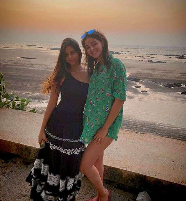 Suhana Khan and ananya pandey