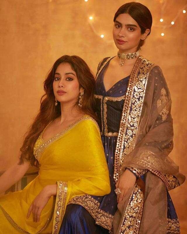 Janhvi and Khushi Kapoor,