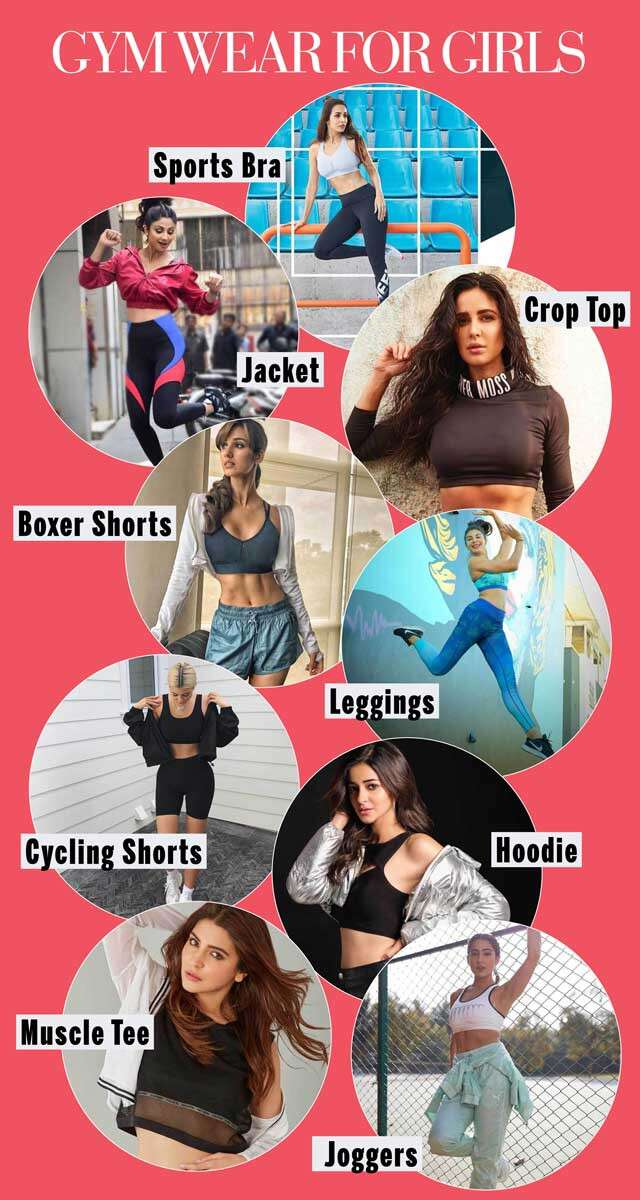 Gym Wear For Girls Infographic