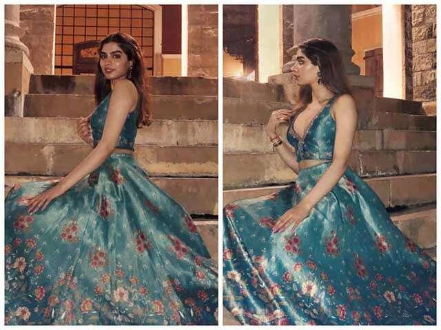 Khushi Kapoor In Shades Of Blue | Femina.in