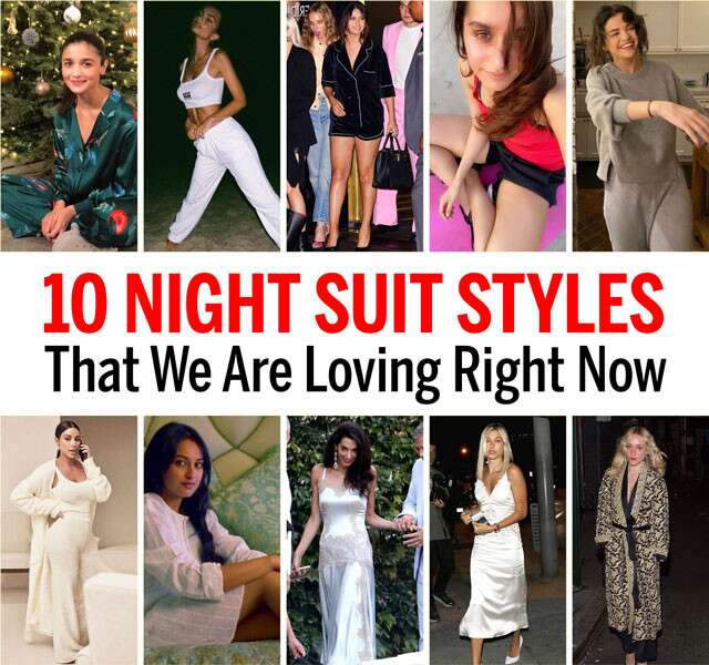 Night Suit Styles Infographic