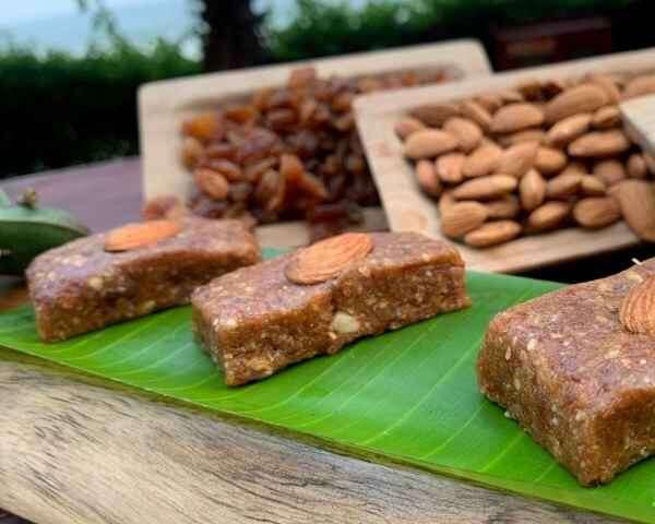 healthy Diwali sweets Dry Fruit Barfi by Chef Sudhakar, The Bheemili Resort managed by Accor Hotels