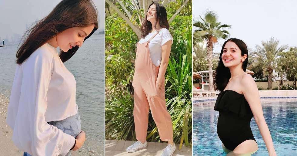 Anushka Sharma Giving Us Life With Her Baby Bump Style