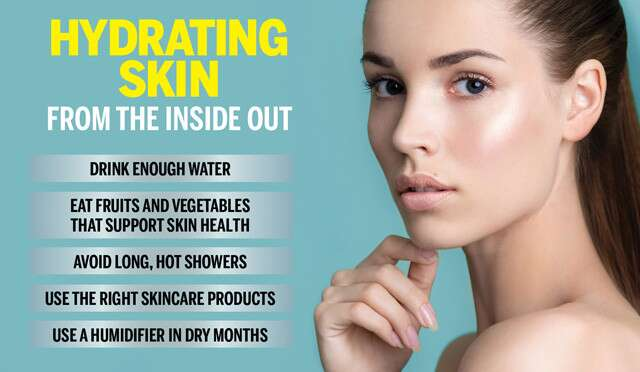Hydration Inside-Out: Your Guide To Getting Glowing Skin Naturally Infographic