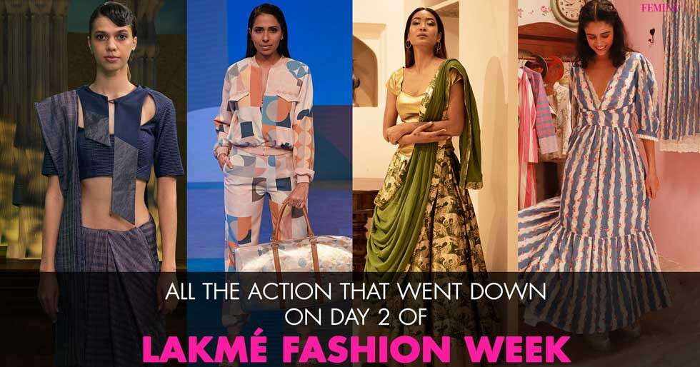 Day 2 Highlights of Lakme Fashion Week's First Ever Digital Edition