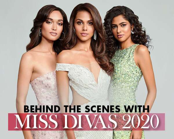 Miss Diva 2020 Winners Dazzle In The BTS Of The October Cover Shoot