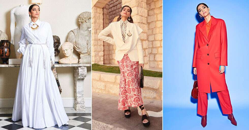 A Gentle Reminder On Why Sonam Kapoor Ahuja Is Our Very Own Fashionista
