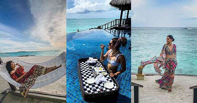 Taapsee Pannu Vacation
