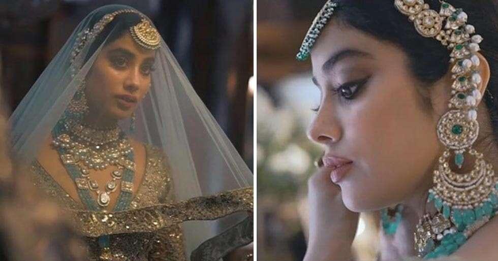 Janhvi Kapoor Turns Muse For Manish Malhotra At ICW 2020