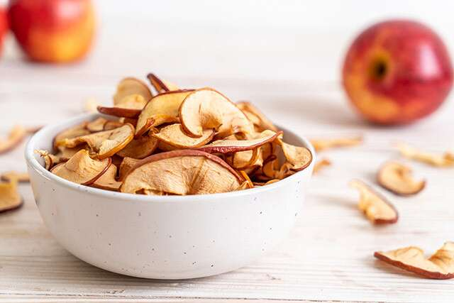 Healthy Late Night Snack: Apple Chips
