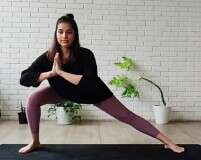 6 Super Easy At-Home Yoga Exercises With Samiksha Shetty