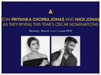 Priyanka Chopra Jonas And Nick Jonas At Oscars 2021