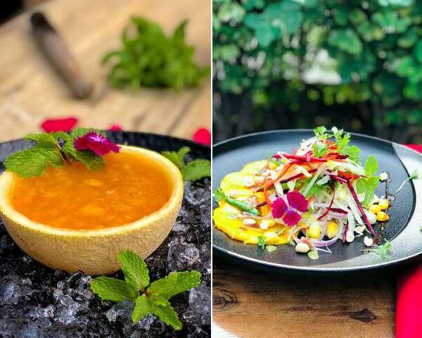 #CookAtHome: Panaka And Raw & Ripe Mango Salad Recipes