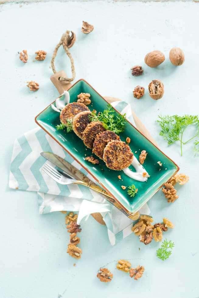 ramzan food dahi walnut kebabs