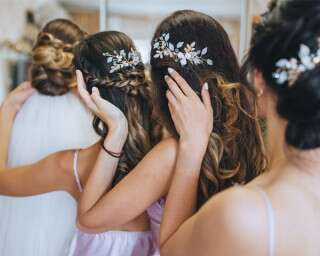 Hairstyles For Young Bridesmaids For Pre-Wedding Events