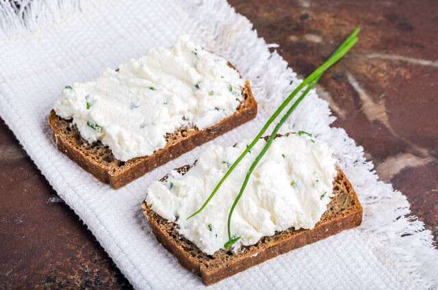 For The Goat Cheese Crostini