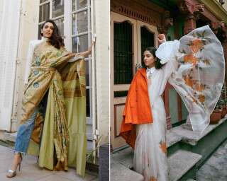 3 Fashion Influencer-Inspired Ways To Drape a Sari