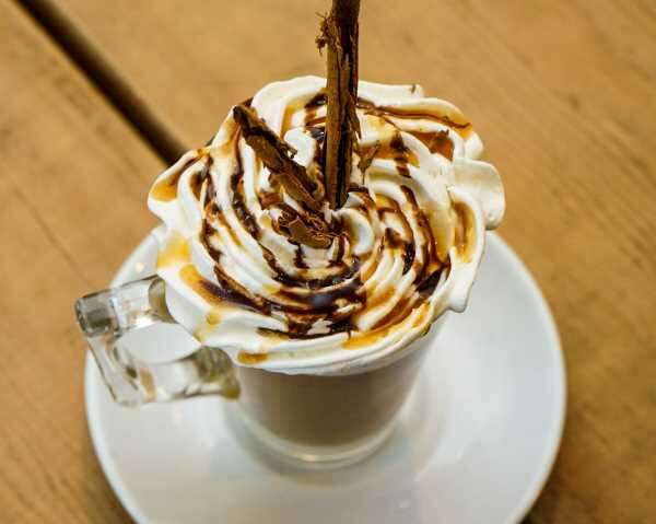 Almond Cinnamon Latte