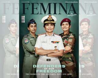 #DefendersOfFreedom: Women Of Army, Navy & Airforce Power Our Latest Cover