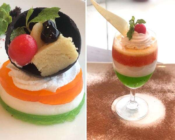t independence Day - tricolour desserts