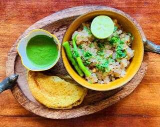 #FastingHealthily: Sabudana Khichdi & Barnyard Millet Dosas