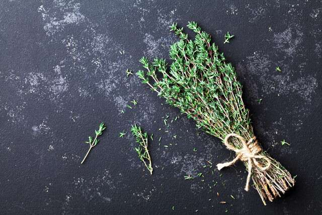 Thyme is Sources Of Vitamin C And Folic