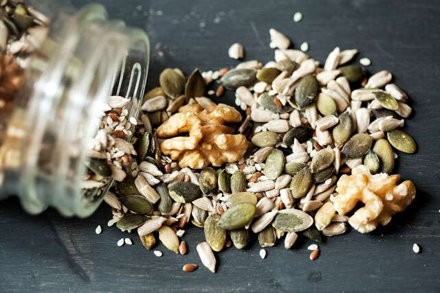 Nuts and seeds is Common Sources Of Vitamin C And Folic