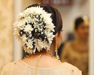 Different Hairstyles for South Indian Brides