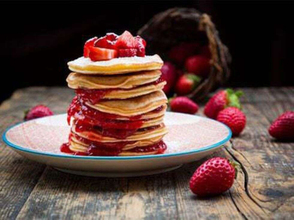 pancakes - healthy pancakes