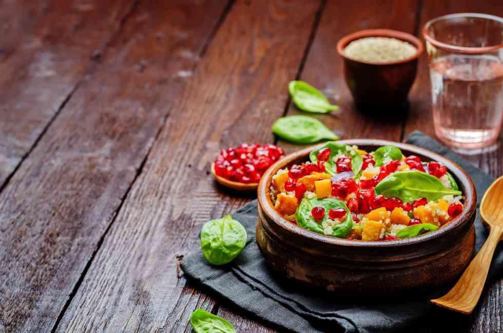 Femina More Pomegranate Sweet Potato Salad
