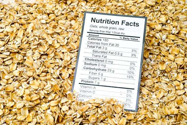 Nutritional Value of Oats