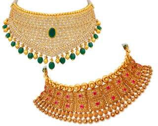 Stunning Choker Necklaces For All Your Wedding Functions