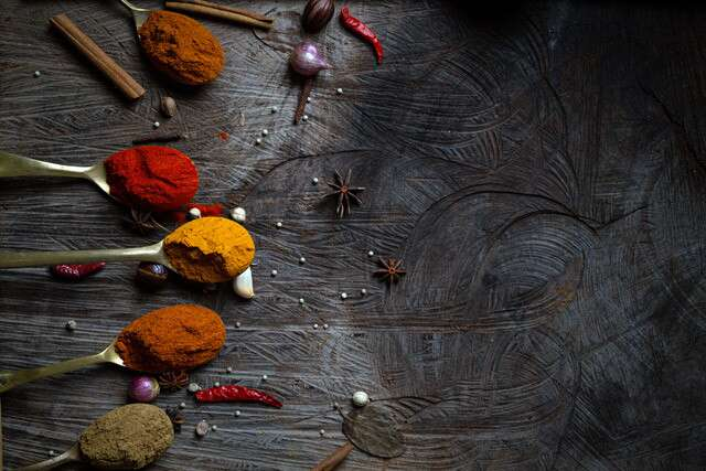 Powdered spices