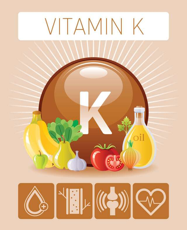 Deficiency Of Vitamin K, The Nutrient Which Helps In Blood Clotting